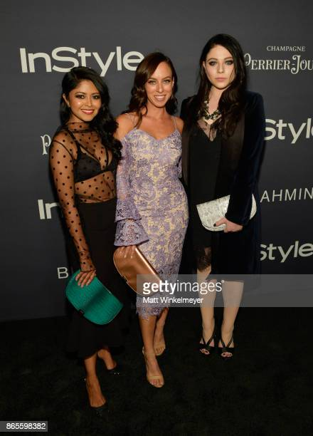 Sheryl Luke Sydne Summer and Michelle Trachtenberg attend the Third Annual 'InStyle Awards' presented by InStyle at The Getty Center on October 23...