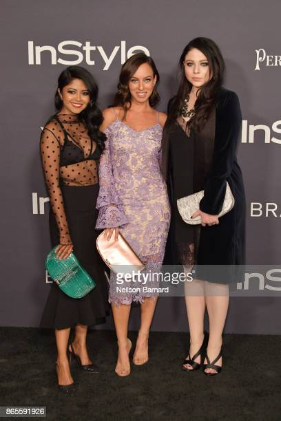 Sheryl Luke Sydne Summer Michelle Trachtenberg attend 3rd Annual InStyle Awards at The Getty Center on October 23 2017 in Los Angeles California
