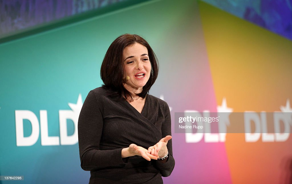Sheryl Sandberg of Facebook delivers a keynote during the Digital Life Design conference (DLD) at HVB Forum on January 24, 2012 in Munich, Germany. ence and culture which connects business, creative and social leaders, opinion-formers and investors for crossover conversation and inspiration.