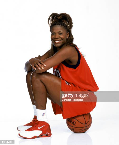 Sheryl Swoops of Team USA poses for the 2004 Women's Team USA Portraits on March 23 2004 in Miami Florida NOTE TO USER User expressly acknowledges...