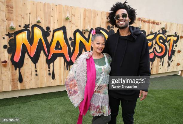 Sheryo Stone and Kwame Morris attend MANDAFEST Mandla Morris' 13th Birthday Celebration on May 20 2018 in Calabasas California