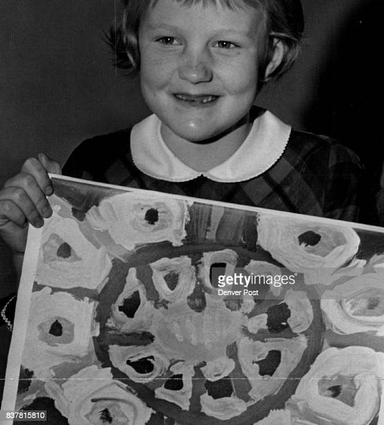 She's a Calendar GirlAt Age 6 Nancy Lee Westerberg of Englewood proudly displays the December art for the 1967 calendar published by the Northwestern...