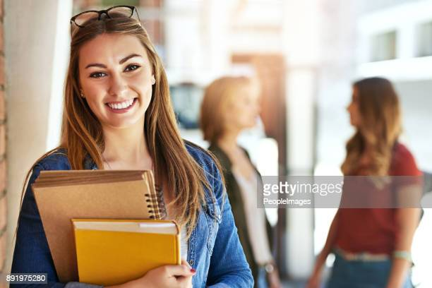 she's a college standout - college student stock pictures, royalty-free photos & images