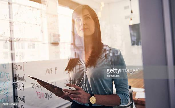 she's a forward thinking professional - glass material stock pictures, royalty-free photos & images