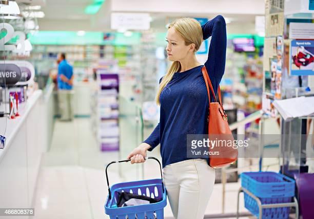 Sie ist eine clevere shopper