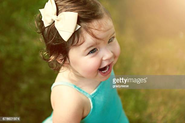 she's adorable as can be - baby girls stock pictures, royalty-free photos & images