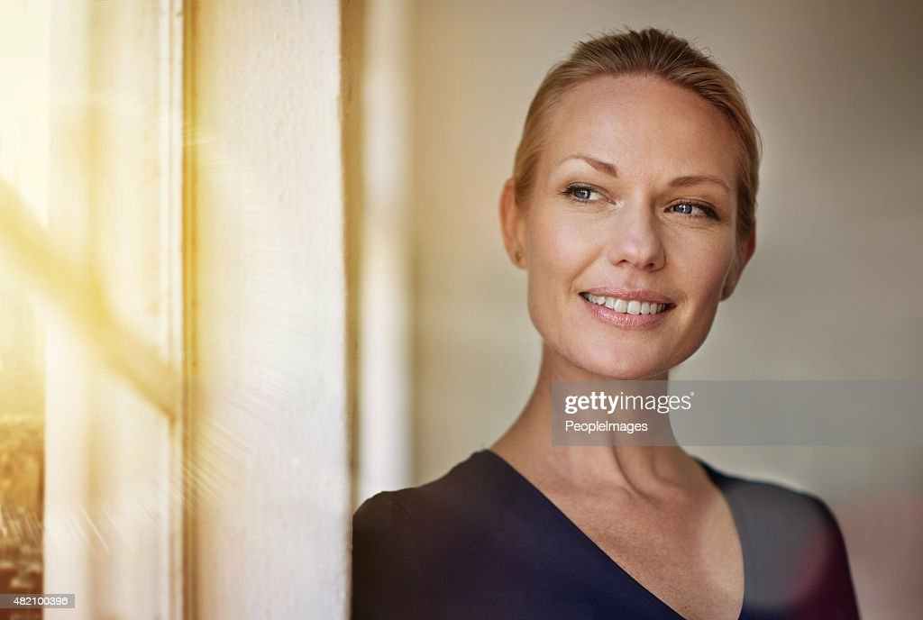 She's an ambitious professional : Stock Photo