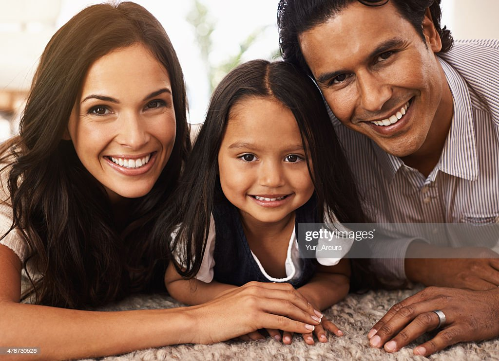 She's completed our family : Stock Photo