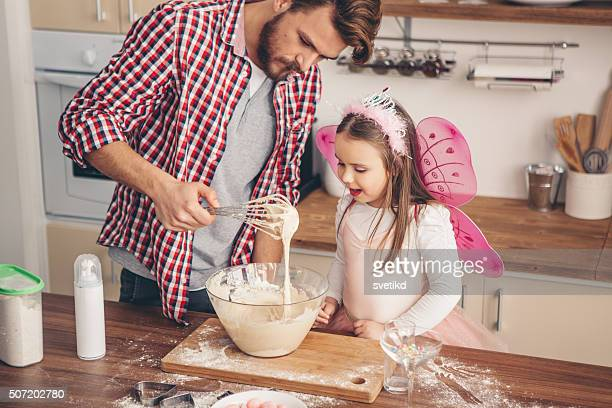she's daddy's little helper! - princess stock pictures, royalty-free photos & images