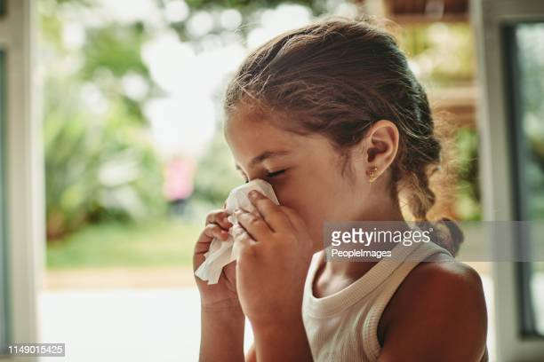 she's feeling under the weather - cold virus stock pictures, royalty-free photos & images