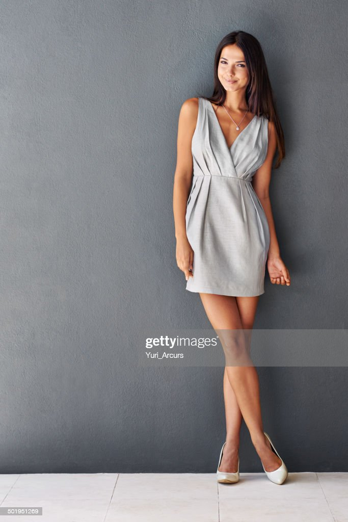 She's going straight to the top : Stock Photo