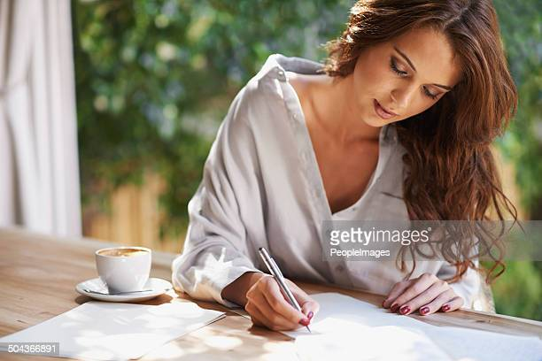 Elle va devenir un célèbre écrivain