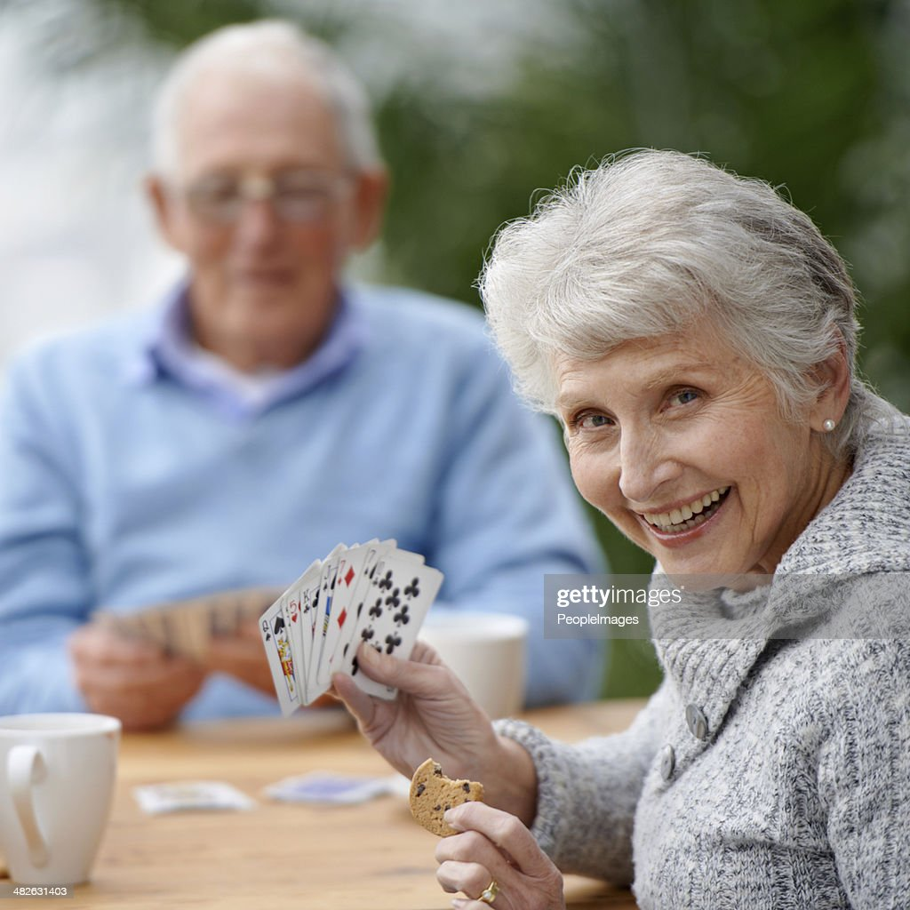 She's got a plan! : Stock Photo