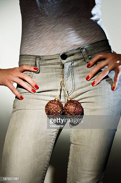 she's got balls - testis stock photos and pictures