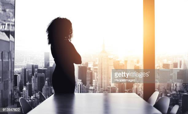 she's got big plans to run the city - aspirations stock pictures, royalty-free photos & images
