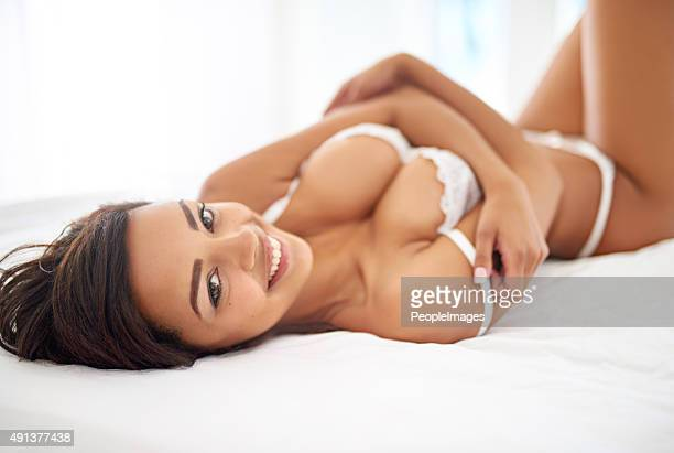 she's got the curves dreams are made of - gorgeous babes stock photos and pictures