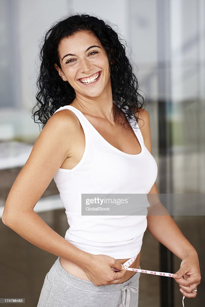 She's in great shape! : Stock Photo