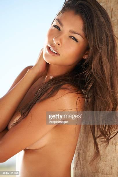 Sie ist sexy und exotischen