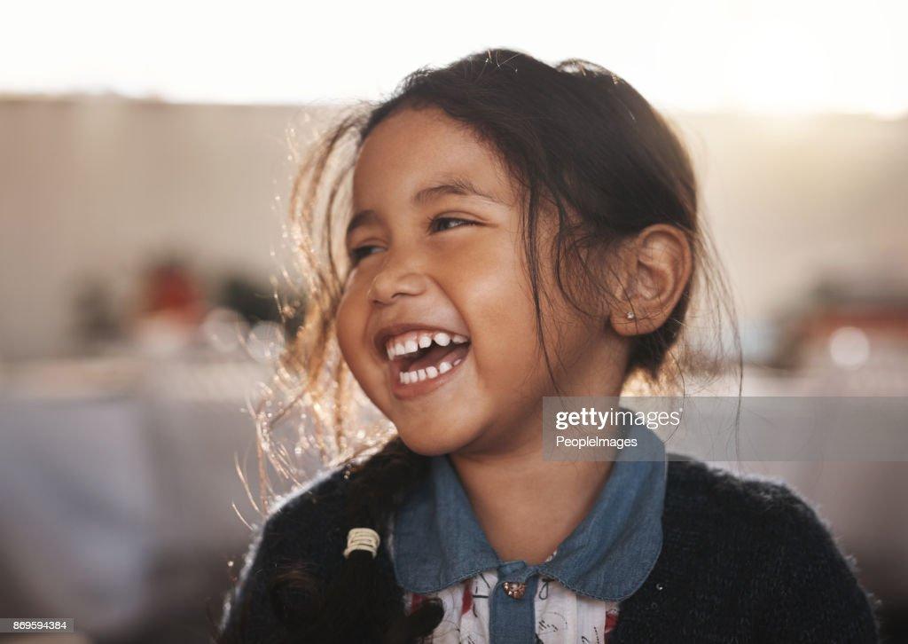 She's simply adorable : Stock Photo