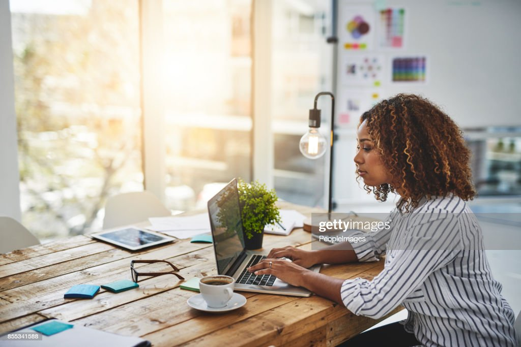 She's the best in the creative buz! : Stock Photo