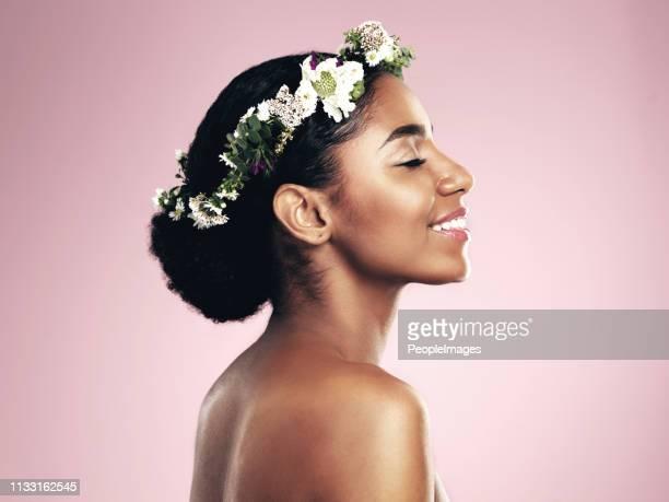 彼女は美人の女王 - 女神アフロディーテ ストックフォトと画像