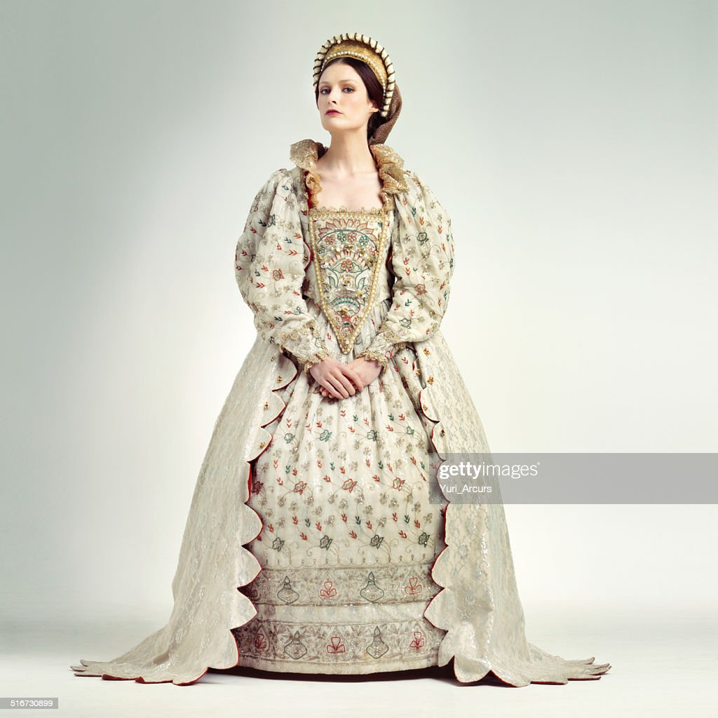 She's the quintessential sovereign : Stock Photo