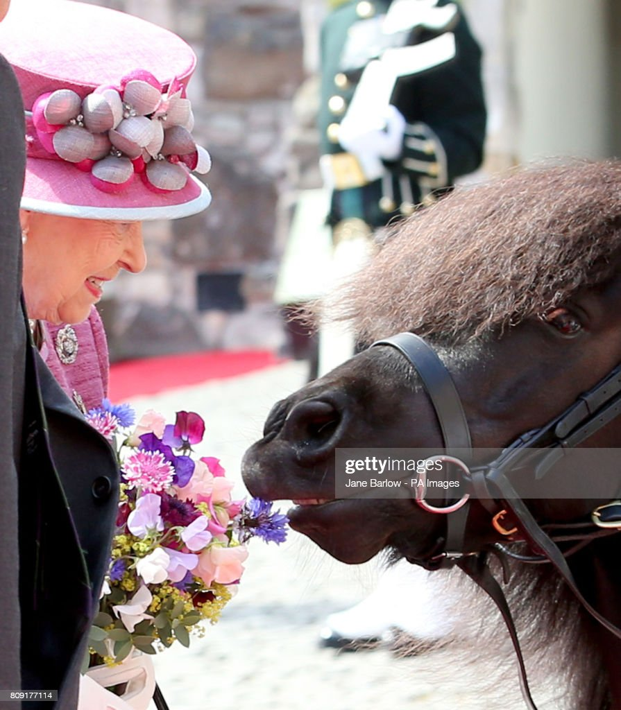 Royal Family in Scotland : News Photo