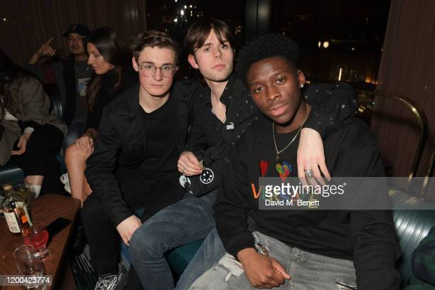 Sheyi Cole and guests attend the NME Awards after party in association with Copper Dog at The Standard on February 12 2020 in London England