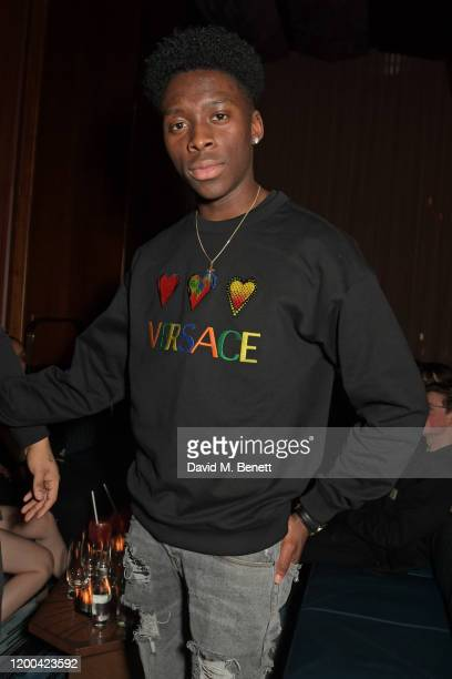Sheyi Cole attends the NME Awards after party in association with Copper Dog at The Standard on February 12 2020 in London England