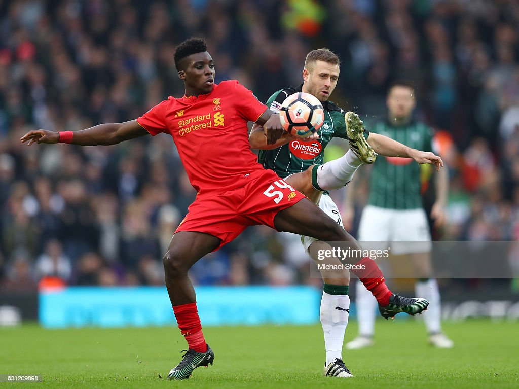 Liverpool v Plymouth Argyle - The Emirates FA Cup Third Round