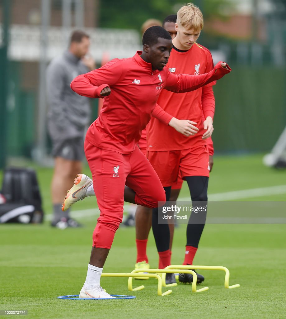 Liverpool FC Training