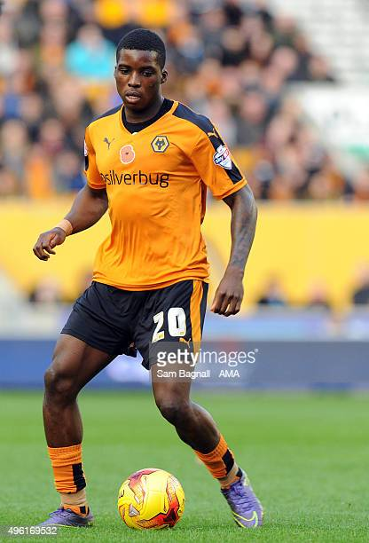 Sheyi Ojo of Wolverhampton Wanderers during the Sky Bet Championship match between Wolverhampton Wanderers and Burnley at Molineux on November 7 2015...
