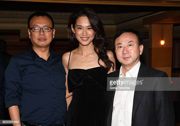 Shi Bing JingJing Qu James H Pang attend Birth Of A Dragon TIFF premiere and afterparty on September 13 2016 in Toronto Canada