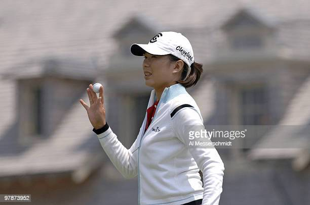 Shi Hyun Ahn during the third round at Newport Country Club site of the 2006 U S Women's Open in Newport Rhode Island July 2