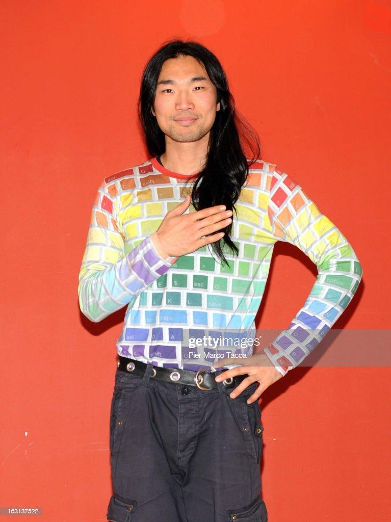 Shi Yang Shi attends a 'Ci vuole un gran fisico' photocall on March 5, 2013 in Milan, Italy.