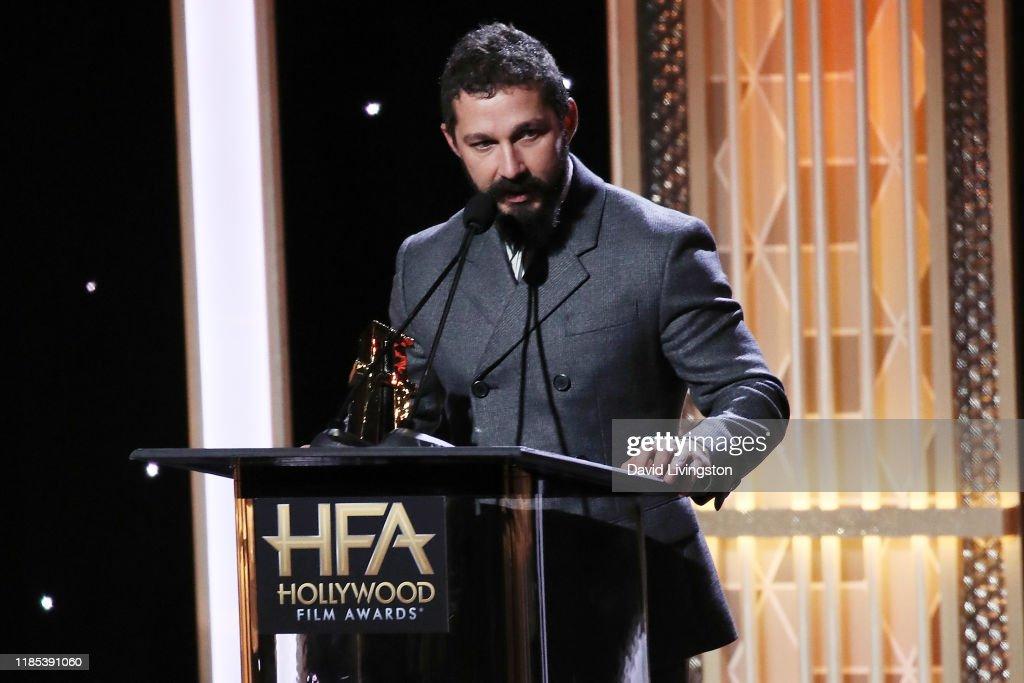 23rd Annual Hollywood Film Awards - Show : News Photo