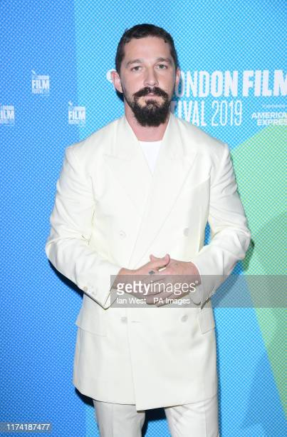 Shia LaBeouf arriving for the screening of Honey Boy as part of the BFI London Film Festival at the Vue West End in London PA Photo Picture date...