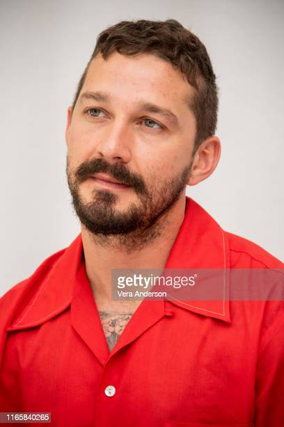 Shia LaBeouf at The Peanut Butter Falcon Press Conference at The London Hotel on August 02 2019 in West Hollywood California