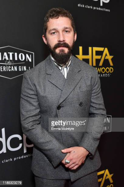 Shia LaBeouf attends the 23rd Annual Hollywood Film Awards at The Beverly Hilton Hotel on November 03, 2019 in Beverly Hills, California.