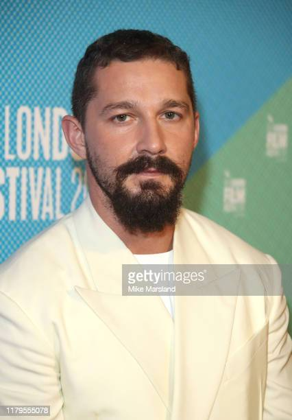 Shia LaBeouf attends the Honey Boy European Premiere during the 63rd BFI London Film Festival at the Vue West End on October 06 2019 in London England