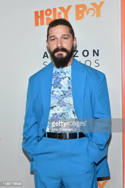 Shia LaBeouf attends the premiere of Amazon Studios Honey Boy at The Dome at Arclight Hollywood on November 05 2019 in Hollywood California