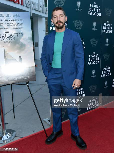 Shia LaBeouf attends the LA Special Screening of Roadside Attractions' The Peanut Butter Falcon at ArcLight Hollywood on August 01 2019 in Hollywood...