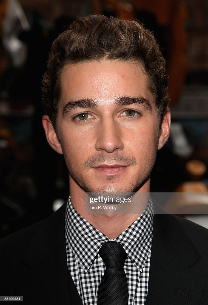 Shia LaBeouf attends the UK Premiere of Transformers: Revenge of the Fallen at Odeon Leicester Square on June 15, 2009 in London, England.