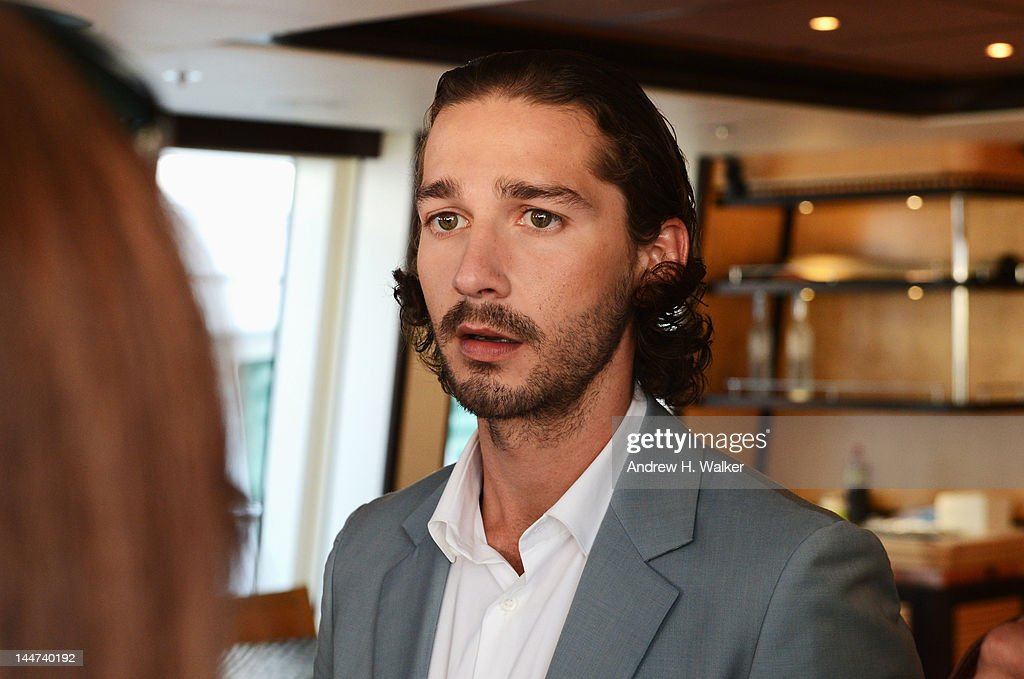 Shia LaBeouf attends the Voltage Pictures sales party for 'Necessary Death of Charlie Countryman' with Stella Artois and Belvedere aboard M/Y Harle during the 65th Annual Cannes Film Festival on May 18, 2012 in Cannes, France.