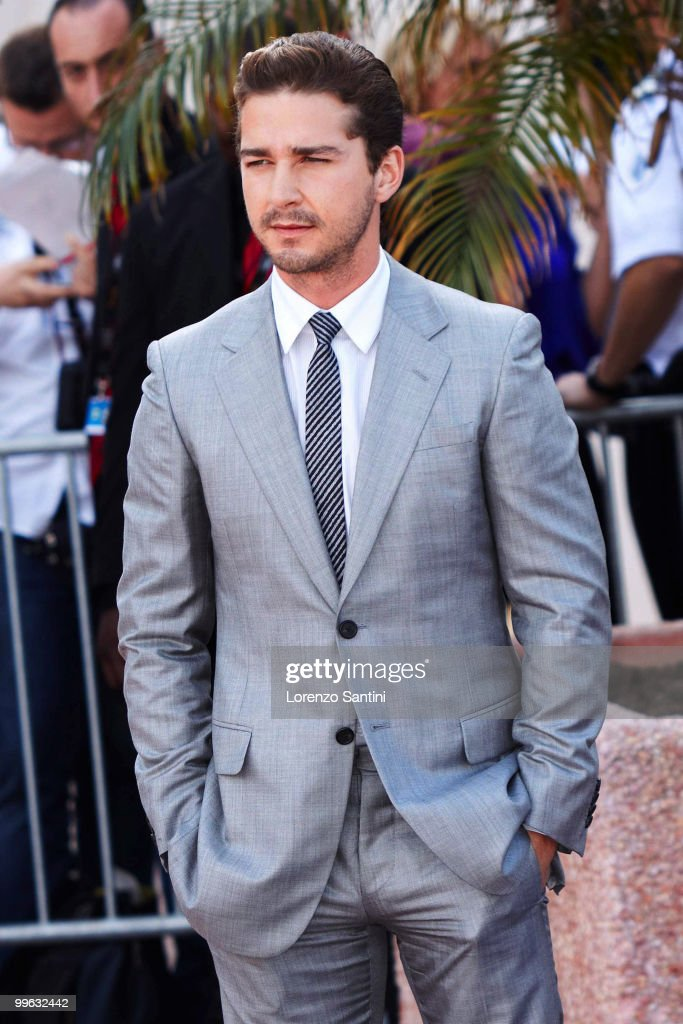 Shia LaBeouf attends the 'Wall Street: Money Never Sleeps' Photo Call on May 14, 2010 in Cannes, France.