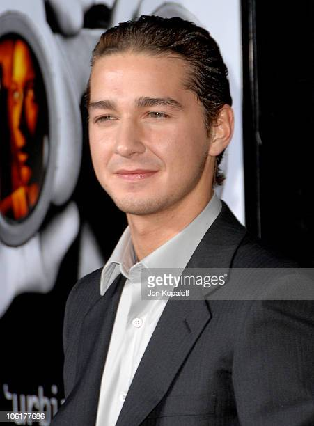 Shia LaBeouf during Disturbia Los Angeles Premiere Arrivals at Grauman's Chinese Theater in Hollywood California United States