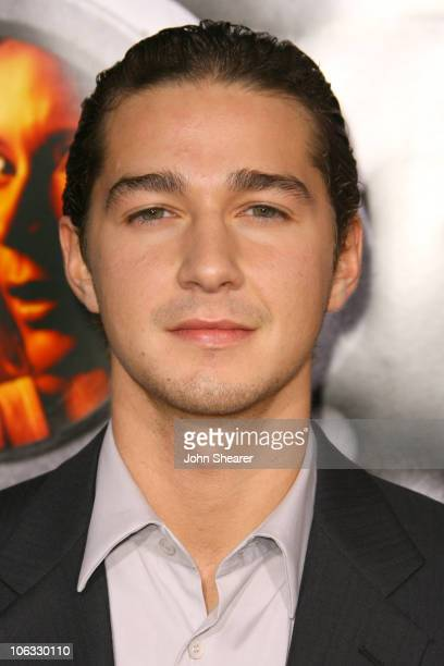Shia LaBeouf during Disturbia Los Angeles Premiere Arrivals at Mann's Chinese in Hollywood California United States