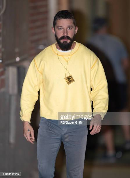 Shia LaBeouf is seen at 'Jimmy Kimmel Live' on November 06, 2019 in Los Angeles, California.