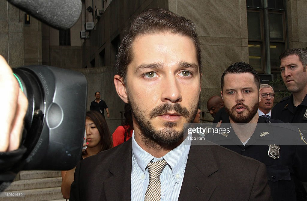 Shia LaBeouf Court Appearance