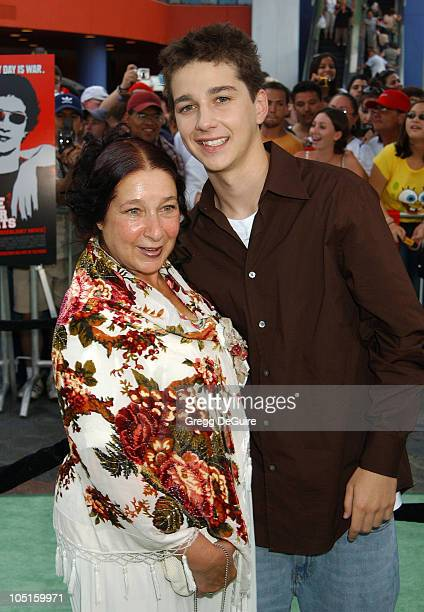 Shia LaBeouf Mom Shayna during The Battle Of Shaker Heights Premiere at Universal Citywalk in Universal City California United States